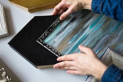 Custom Artwork Framing Services